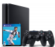 Sony PlayStation 4 (PS4) Slim 500GB + FIFA 19 + 2 Controller